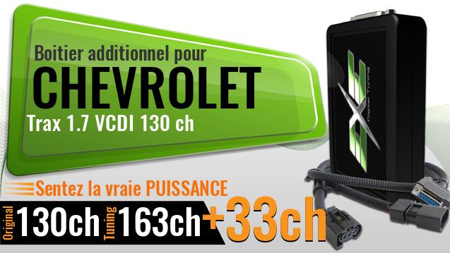 Boitier additionnel Chevrolet Trax 1.7 VCDI 130 ch