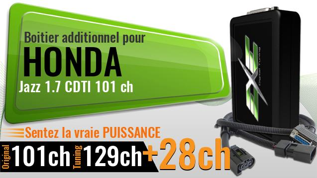 Boitier additionnel Honda Jazz 1.7 CDTI 101 ch