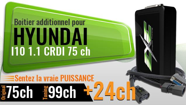 Boitier additionnel Hyundai I10 1.1 CRDI 75 ch
