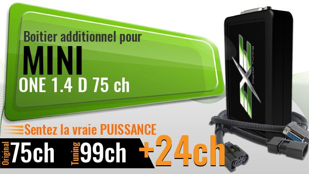 Boitier additionnel Mini ONE 1.4 D 75 ch