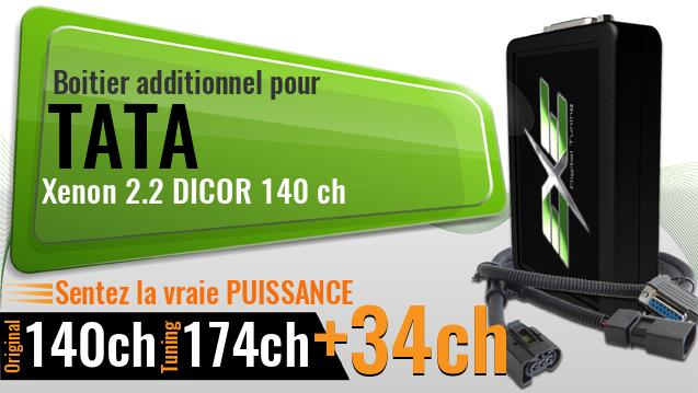 Boitier additionnel Tata Xenon 2.2 DICOR 140 ch