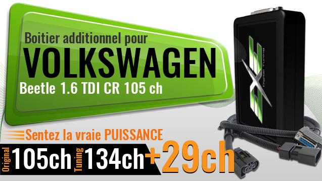 Boitier additionnel Volkswagen Beetle 1.6 TDI CR 105 ch