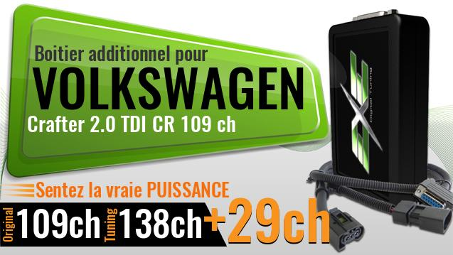 Boitier additionnel Volkswagen Crafter 2.0 TDI CR 109 ch
