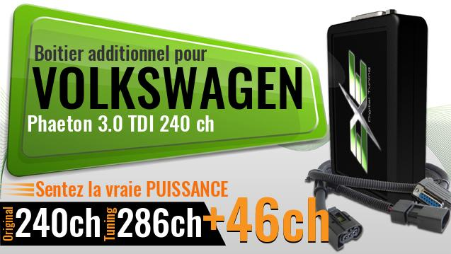 Boitier additionnel Volkswagen Phaeton 3.0 TDI 240 ch