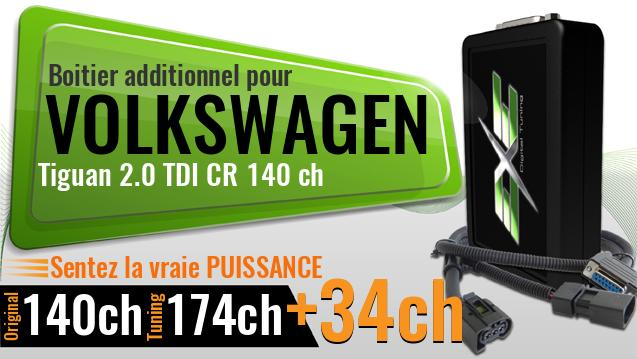 Boitier additionnel Volkswagen Tiguan 2.0 TDI CR 140 ch
