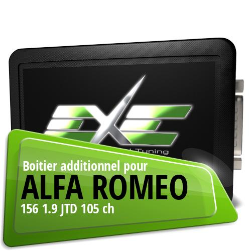 Boitier additionnel Alfa Romeo 156 1.9 JTD 105 ch