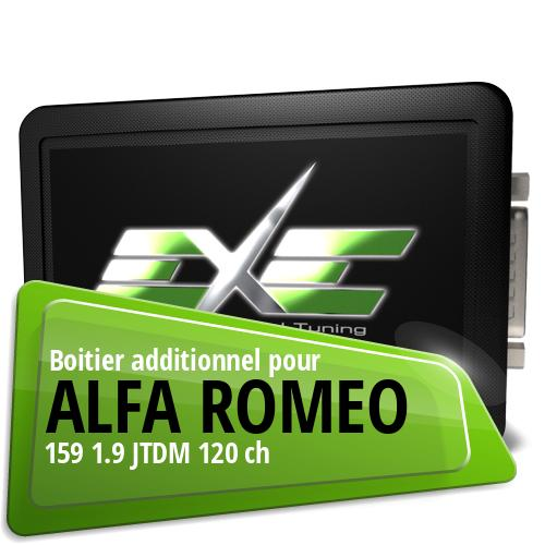 Boitier additionnel Alfa Romeo 159 1.9 JTDM 120 ch