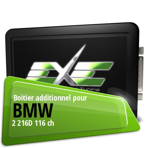 Boitier additionnel Bmw 2 216D 116 ch