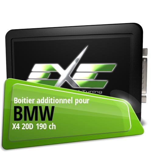 Boitier additionnel Bmw X4 20D 190 ch