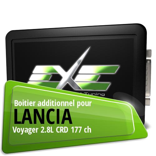 Boitier additionnel Lancia Voyager 2.8L CRD 177 ch
