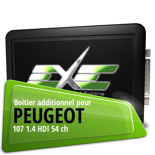 Boitier additionnel Peugeot 107 1.4 HDI 54 ch
