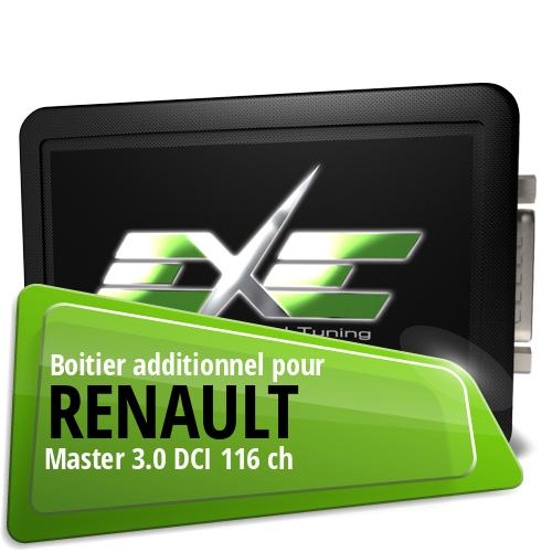 Boitier additionnel Renault Master 3.0 DCI 116 ch