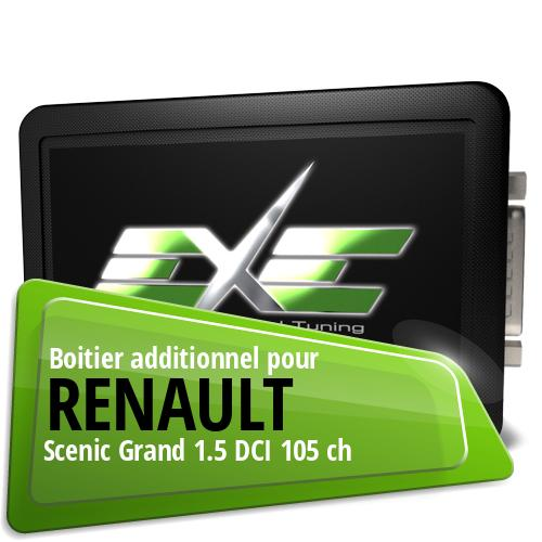 Boitier additionnel Renault Scenic Grand 1.5 DCI 105 ch