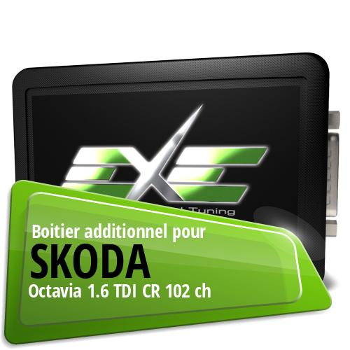Boitier additionnel Skoda Octavia 1.6 TDI CR 102 ch