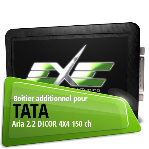 Boitier additionnel Tata Aria 2.2 DICOR 4X4 150 ch