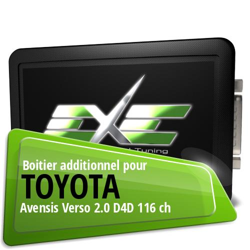 Boitier additionnel Toyota Avensis Verso 2.0 D4D 116 ch