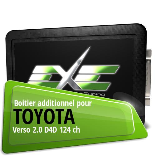 Boitier additionnel Toyota Verso 2.0 D4D 124 ch