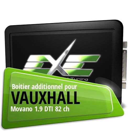 Boitier additionnel Vauxhall Movano 1.9 DTI 82 ch