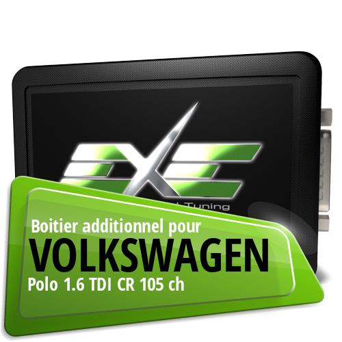 Boitier additionnel Volkswagen Polo 1.6 TDI CR 105 ch